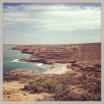 The view from Eagle Gorge in Kalbarri National Park. Not many flies...