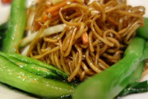 Singapore noodles at Le Chinois, Sofitel Guangzhou