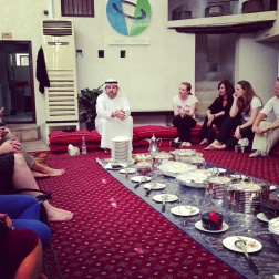 """At the Sheikh Mohammed Centre for Cultural Understanding - """"open doors, open minds""""."""
