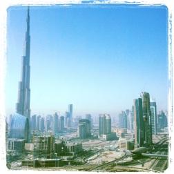 #Dubai from my hotel window...