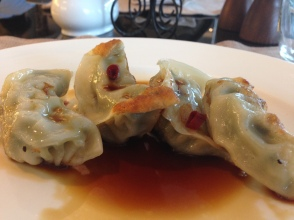 Gyoza for breakfast at Sofitel Guangzhou