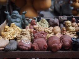Buddhas at Qingping Market, Guangzhou
