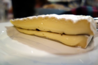 A generous portion of tuffled brie at Mount Majura
