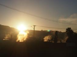 Evening view of Rotorua