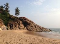 The beach at Niraamaya Surya Samudra...